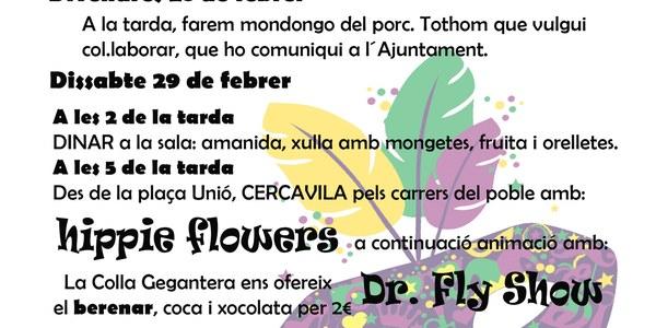 Carnaval Fondarella 2020
