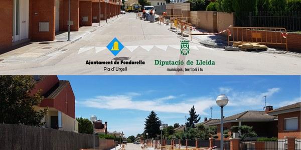 Col.laboració de la Diputació de Lleida en la millora de l´entorn urbà