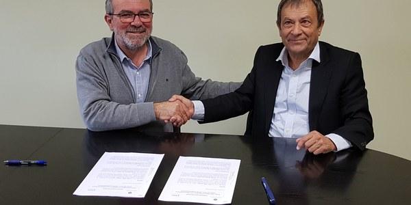 Fondarella signa el conveni de gestió delegada del Centre de Serveis Municipal