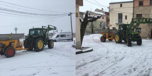 La nevada d'avui