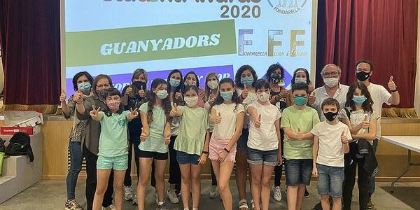 L'escola Minyons d'Urgell de Fondarella guanyadors dels Student Awards 2020